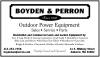 Boyden & Perron Inc.