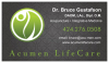 Dr. Bruce Gustafson, DAOM, LAc., Dipl. OM