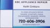 KBC Appliance Repair