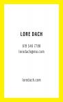 Lore Dach