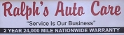 Raplh's Auto Care Inc