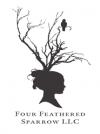 Four Feathered Sparrow
