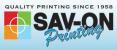 SAV-ON Printing