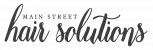 Main Street Hair Solutions