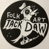 Jackdaw Folk Art